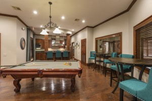 One Bedroom Apartments for Rent in Northwest Houston, TX - Clubhouse Pool Table